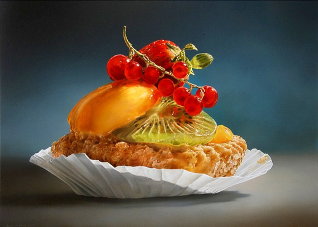 Picture-1 ( 25 Mega Realistic Oil Paintings by Dutch Artist Tjalf Sparnaay )